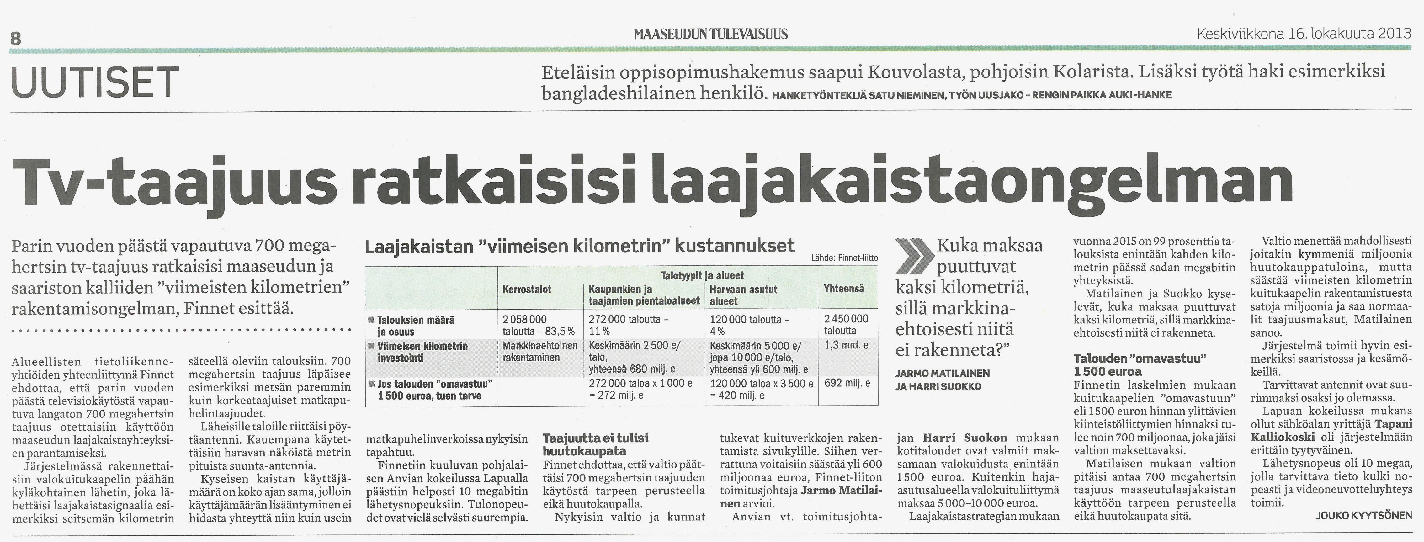 sihteeriopisto finland maaseudun tulevaisuus ystävää etsimässä
